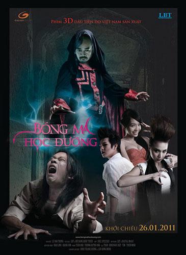 Poster của phim Bóng Ma Học Đường