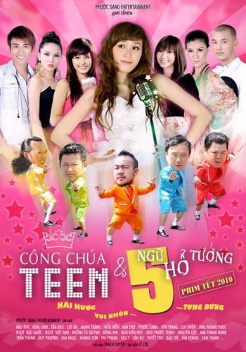 Poster của phim Công chúa teen và ngũ hổ tướng