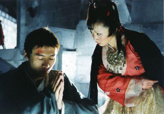 Tạo hình Thiên Sơn Đồng Lão trong Thiên long bát bộ 2003