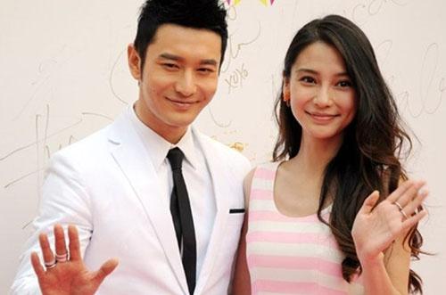 Vợ chồng Angela Baby - Huỳnh Hiểu Minh