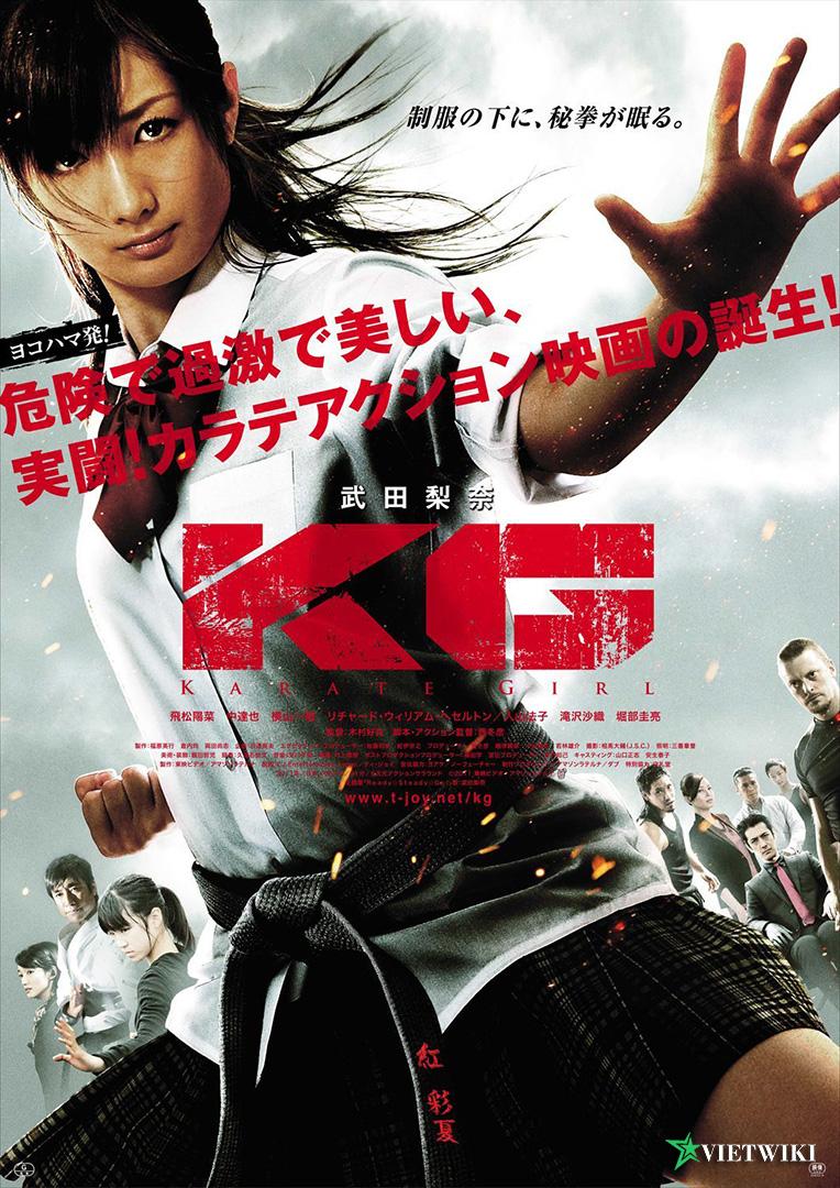 Poster của phim Cô Gái Karate