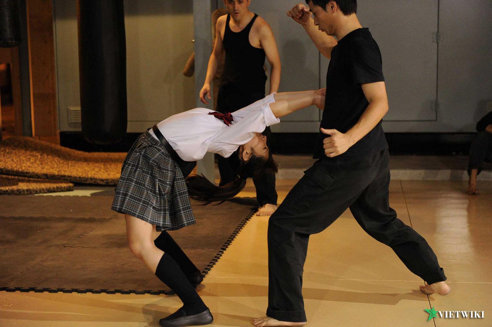 Cảnh trong phim Cô Gái Karate - 3