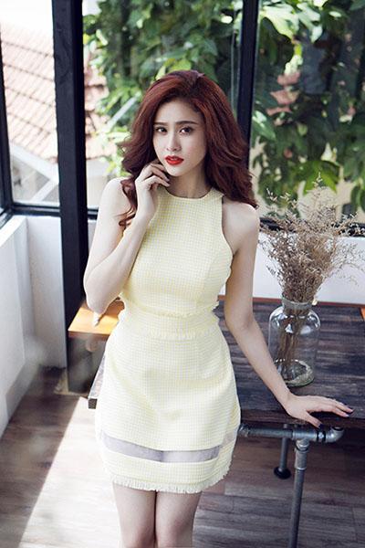 Ngắm vẻ đẹp quyến rũ của Trương Quỳnh Anh - 20
