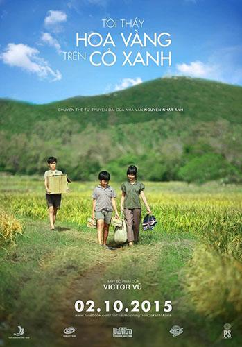 Poster của phim Tôi thấy hoa vàng trên cỏ xanh