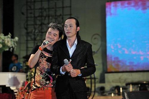 Hoài Linh và ca sĩ Đàm Vĩnh Hưng