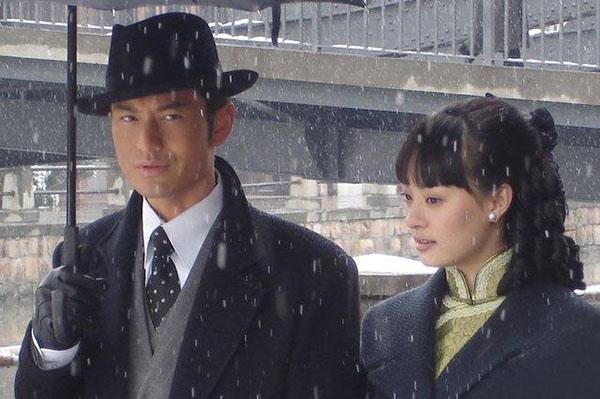 Tạo hình Hứa Văn Cường trong phim Tân bến Thượng Hải