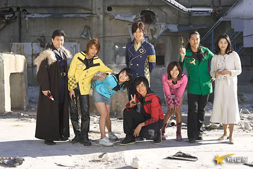Cảnh trong phim Mahou Sentai Magiranger - 1