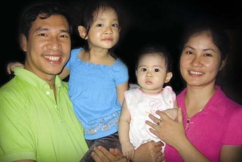 Gia đình Quang Thắng