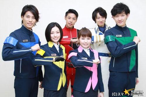 Cảnh trong phim Tokusou Sentai Dekaranger - 1