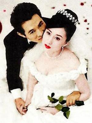 Chú rể Lý Liên Kiệt và cô dâu Lợi Trí