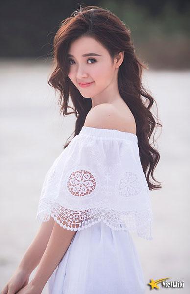 Ngắm vẻ đẹp không tì vết của Hot girl Midu - 5