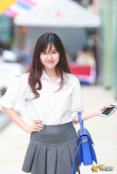 Ngắm vẻ đẹp không tì vết của Hot girl Midu - 8