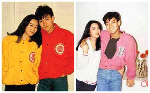 Vợ chồng Lưu Đức Hoa - Chu Lệ Thiên