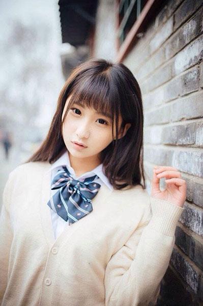 Ngắm vẻ đẹp ngọt ngào và tinh khiết của diễn viên Trung Quốc Thích Lam Duẫn - 1