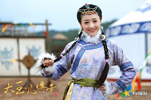 Tạo hình Hải Lan Châu của Hà Hoa trong phim Đại Ngọc Nhi truyền kỳ - 2