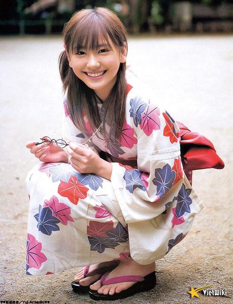 Chiêm ngưỡng vẻ đẹp của ngọc nữ Nhật Bản Aragaki Yui - 14