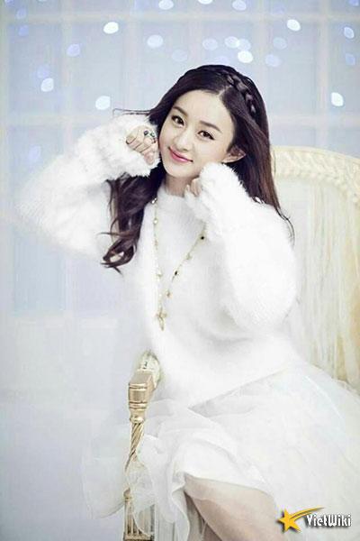 Ngắm vẻ đẹp trẻ thơ, dễ thương và đáng yêu của Triệu Lệ Dĩnh - 6